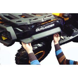 Расширители колесных арок BRP Can-Am Outlander Max 500/650/800/1000 G2, 1000 X-MR G2