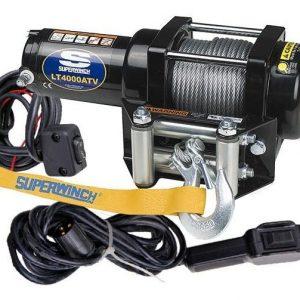 Лебедка superwinch LT4000 ATV с синтетическим тросом
