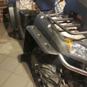 Расширители колесных арок godzilla на CFMOTO X8