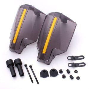 защита рук для квадроциклов и мотоциклов с диаметром руля 22мм (цвет черный)
