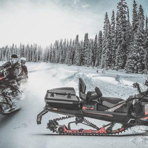 Кофр для ski-doo Expedition / lynx ranger, commander