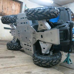 Комплект защиты днища ATVIRON CF MOTO X4 09.1.10