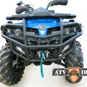 Бампер передний усиленный ATV IRON CF MOTO X5 H.O./Х6 EPS