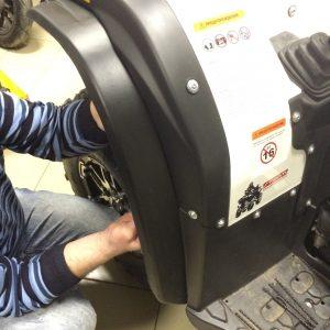 Расширители колесных арок для Stels ATV 600 LEOPARD