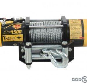 Лебедка электрическая для тяжелого квадроцикла T-MAX ATW-PRO 4500