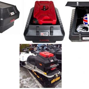 Кофр багажный GKA №1 для снегоходов BRP