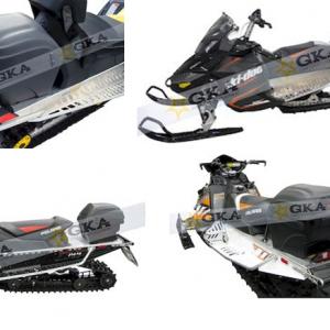 Универсальный багажный кофр GKA №8 для любых снегоходов