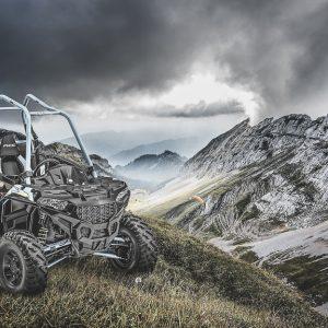 Кофр Tesseract для ATV Polaris 900 ACE