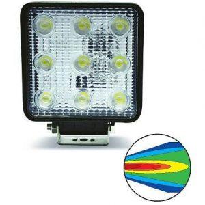Светодиодные фары AVS Light SL-1211A (27W)