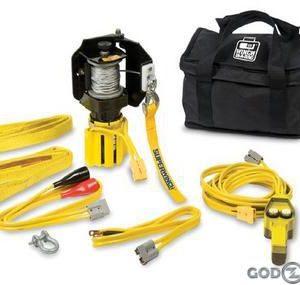 Переносная электрическая лебедка для ATV Superwinch 2000