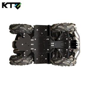 BRP OUTLANDER G2 (2012 — 2016) Защита днища пластиковая KTZ